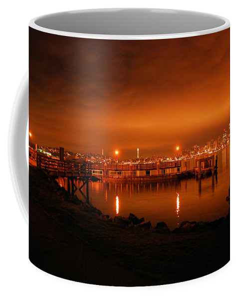 Fire Coffee Mug featuring the photograph Skies On Fire by Michael Merry