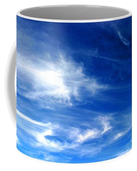 Air Coffee Mug featuring the photograph Sky by Henrik Lehnerer