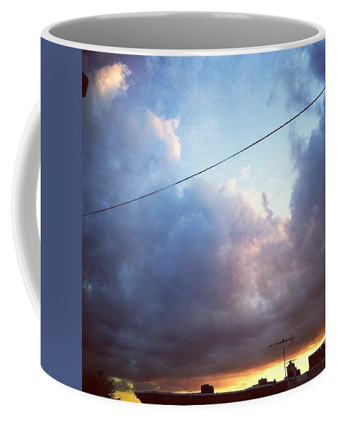 Coffee Mug featuring the photograph Sky Right Now by Katie Cupcakes