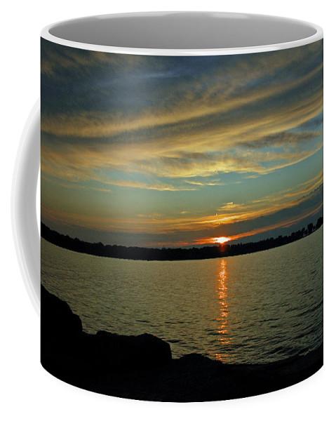 Usa Coffee Mug featuring the photograph Sky Waves by LeeAnn McLaneGoetz McLaneGoetzStudioLLCcom