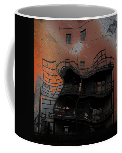 Abstract Coffee Mug featuring the photograph Sleeping Stones by The Artist Project