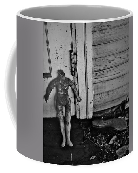 Street Photographer Framed Prints Coffee Mug featuring the photograph Slipped by The Artist Project