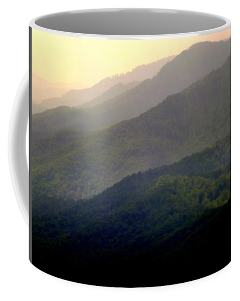Mountains Coffee Mug featuring the photograph Song Of The Hills by Karen Wiles