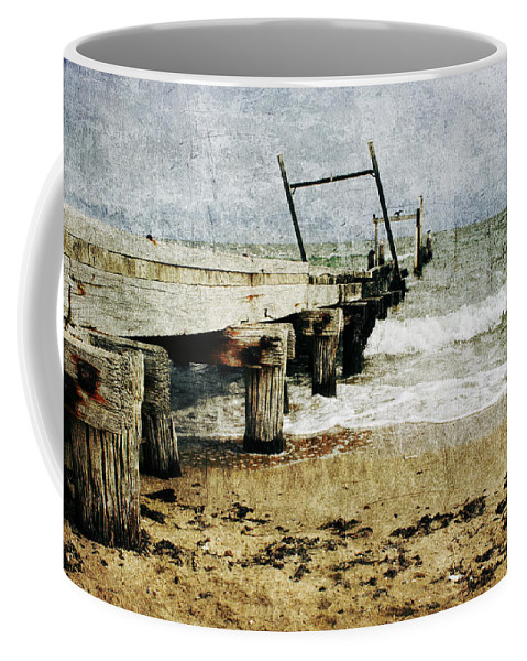 Beach Coffee Mug featuring the photograph Soul Reaver by Andrew Paranavitana