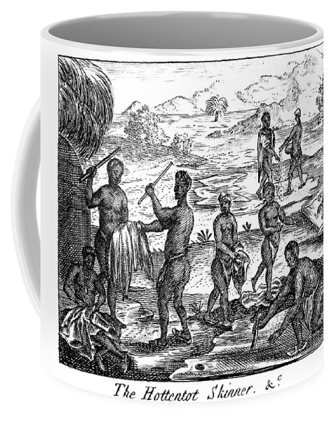 1731 Coffee Mug featuring the photograph South Africa: Hottentot by Granger