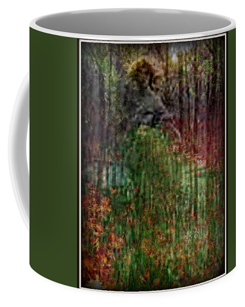 Ghost Coffee Mug featuring the photograph Spectre by Priscilla Richardson