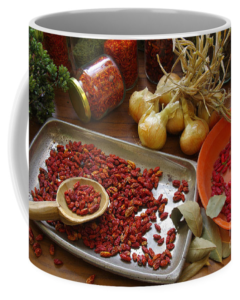 Aromatic Coffee Mug featuring the photograph Spicy Still Life by Carlos Caetano