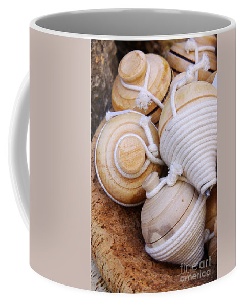 Action Coffee Mug featuring the photograph Spinning Tops by Carlos Caetano
