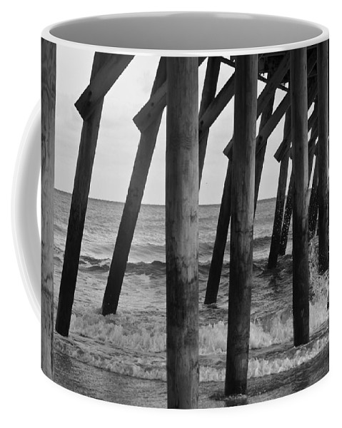 Atlantic Coffee Mug featuring the photograph Splashing Waves by Teresa Mucha
