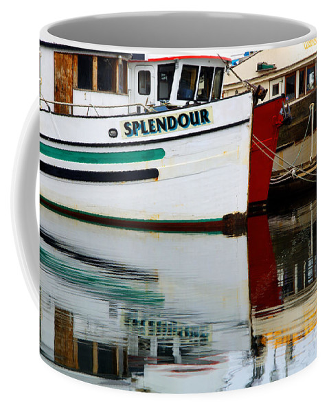 Fishing Boats Coffee Mug featuring the photograph Splendour by Bob Christopher