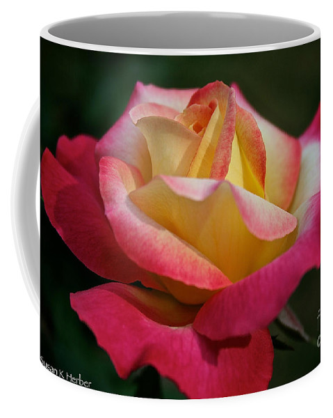 Plant Coffee Mug featuring the photograph Spoken Softly by Susan Herber