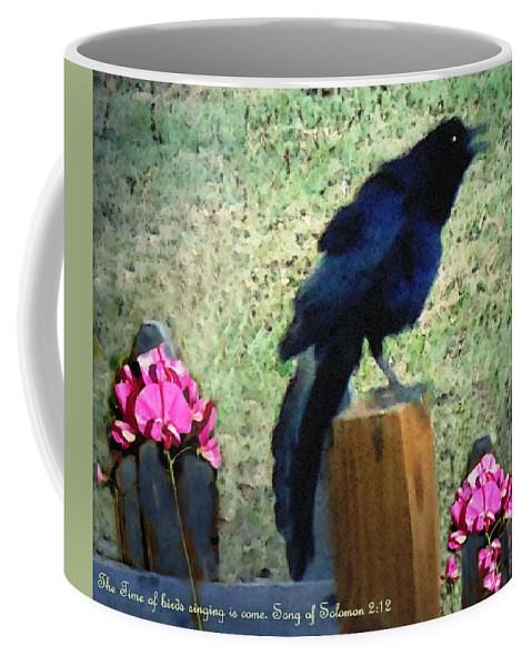 Nature Coffee Mug featuring the photograph Spring Song II by Anastasia Savage Ealy