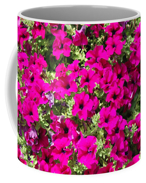 Pink Coffee Mug featuring the photograph Springtime Flowers by Michael Merry