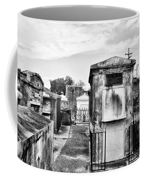 Tomb Coffee Mug featuring the photograph St Louis Cemetery - New Orleans by Bill Cannon