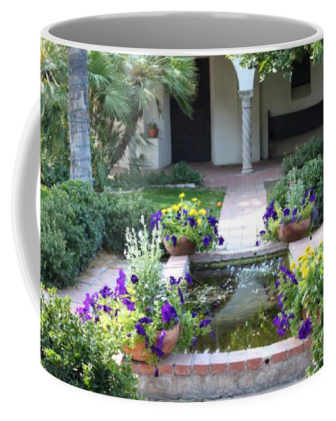 Garden Coffee Mug featuring the photograph St. Philip's Garden by M Diane Bonaparte