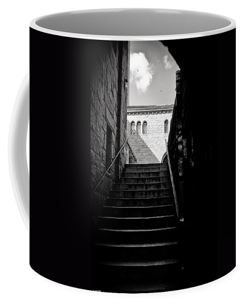 Stairs Coffee Mug featuring the photograph Staircase by Madeline Ellis