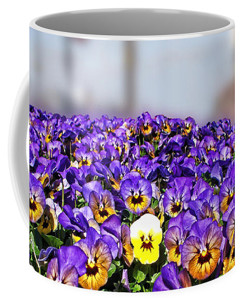 Nature Coffee Mug featuring the photograph Standing Out In The Crowd by Debbie Portwood