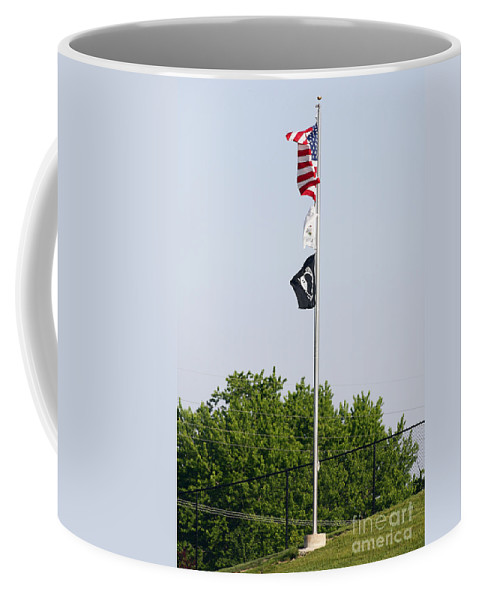 4th Coffee Mug featuring the photograph Standing Proud by Alan Look