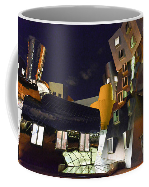 Stata Center Coffee Mug featuring the photograph Stata Center by Julie Niemela