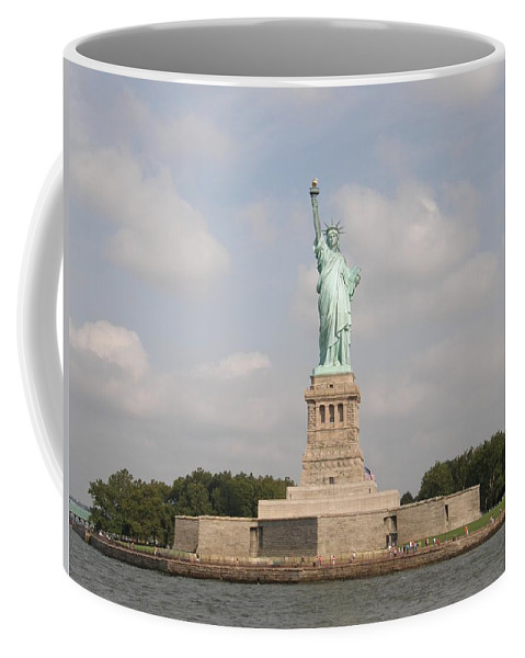 Statue Coffee Mug featuring the photograph Statue Of Liberty 1 by Sven Migot