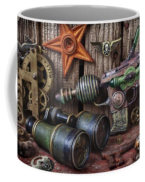 Steampunk Coffee Mug featuring the photograph Steampunk Still Life by Garry Gay
