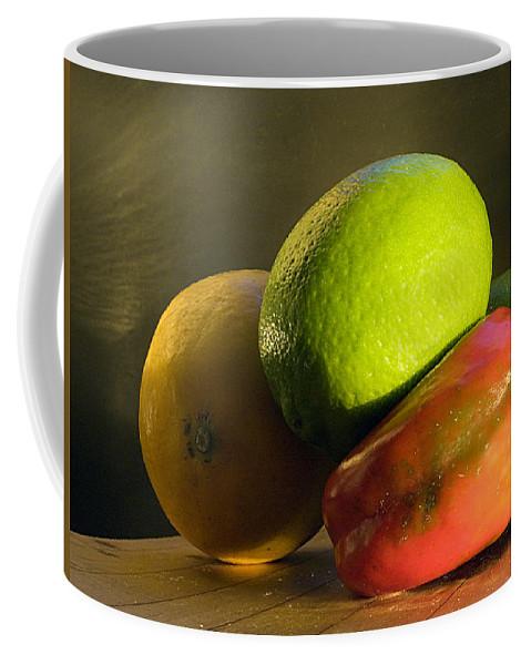 Fruit Coffee Mug featuring the photograph Still Life by Joe Schofield