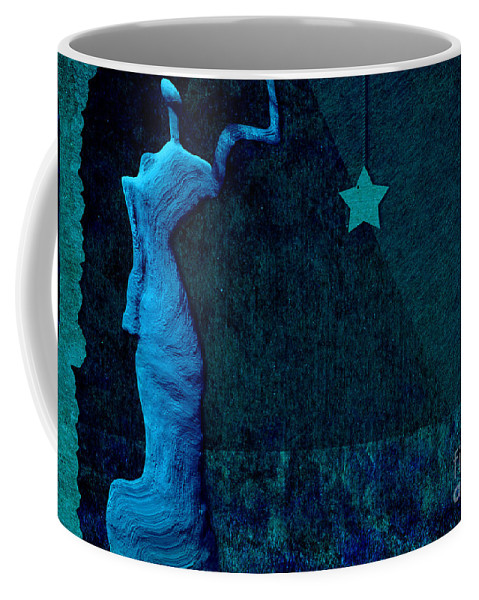 stone Men Coffee Mug featuring the digital art Stone Men 30-33 C02c - Les Femmes by Variance Collections