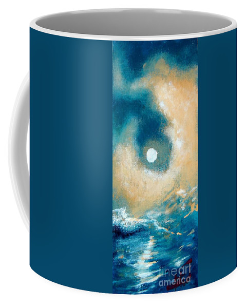 Nature Coffee Mug featuring the painting Storm by Ana Maria Edulescu