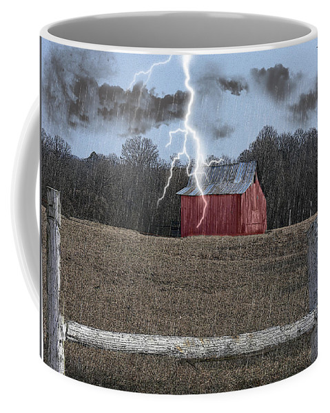 Tn Coffee Mug featuring the photograph Stormy Weather by Ericamaxine Price