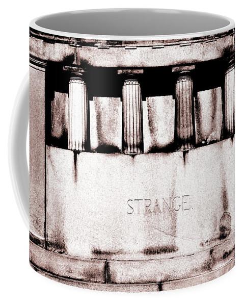Tomb Coffee Mug featuring the photograph Strange by Floyd Menezes