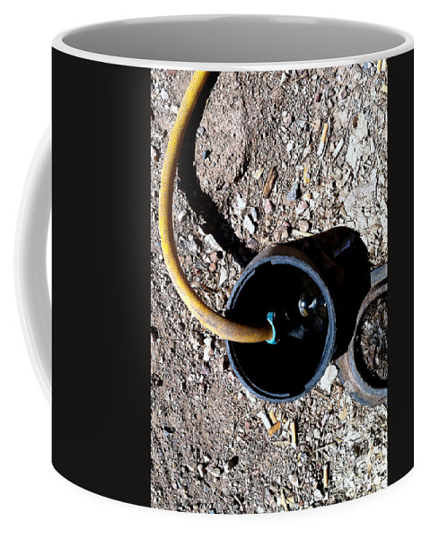 Tombstone Coffee Mug featuring the photograph Streets Of Tombstone 8 by Marlene Burns