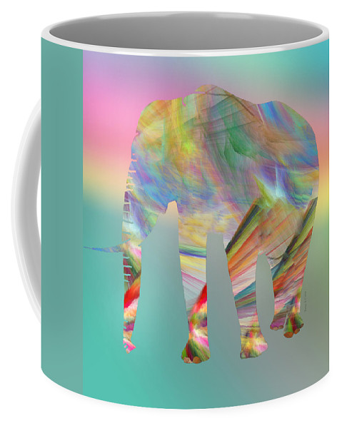 Fractals Coffee Mug featuring the digital art Strong Impression by Betsy Knapp