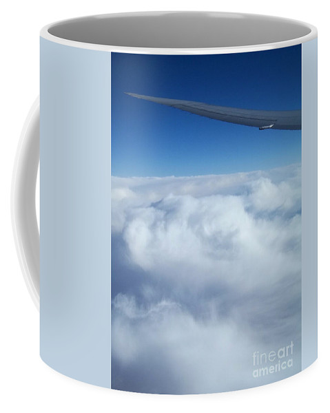 Nature Coffee Mug featuring the photograph Sublime Flight by Mary Mikawoz