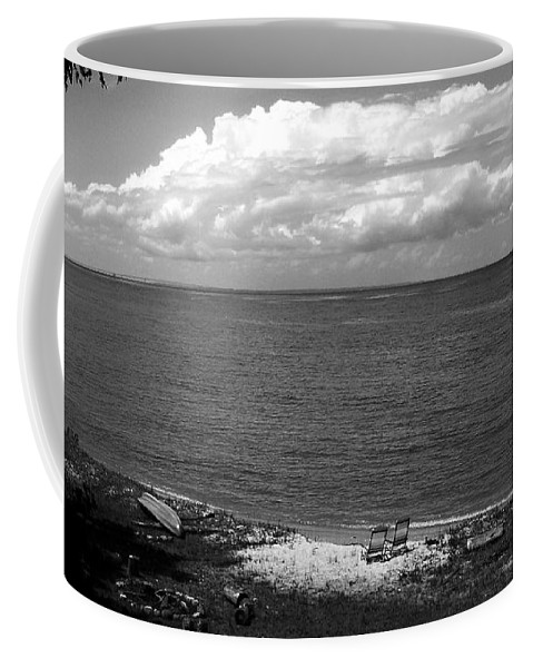 Point Nippigon Coffee Mug featuring the photograph Summer At The Point by Marysue Ryan