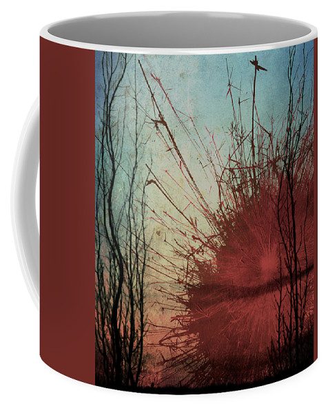 Abstract Art Coffee Mug featuring the photograph Summer Blast by The Artist Project