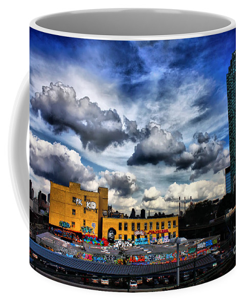 Summer Coffee Mug featuring the photograph Summer Blues by Nishanth Gopinathan