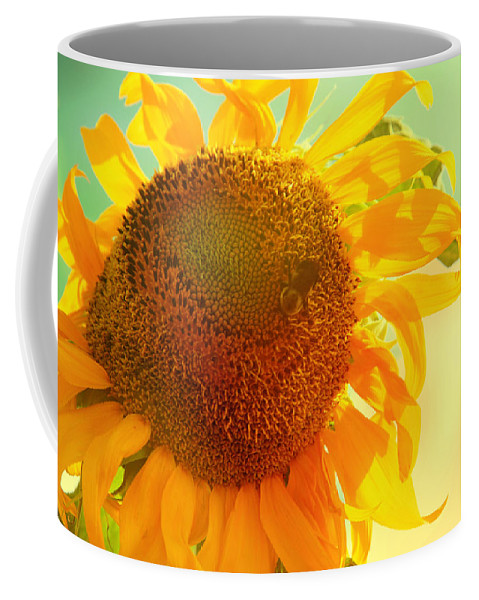 Sunflower Photograph Coffee Mug featuring the photograph Summer Daydream by Toni Hopper