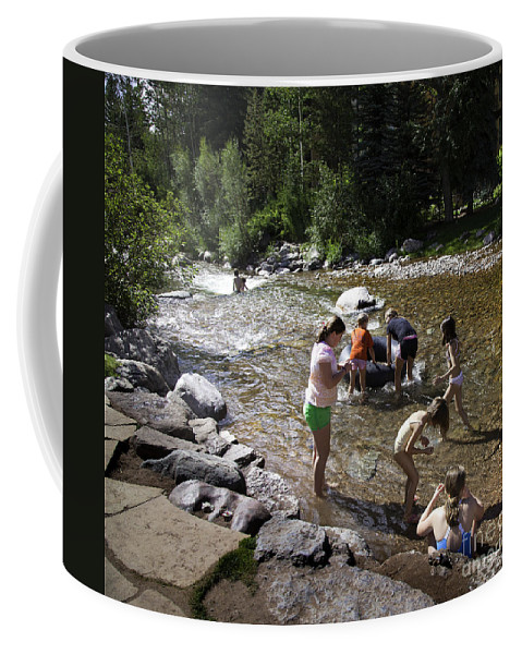 Children Coffee Mug featuring the photograph Summer Fun In Vail by Madeline Ellis