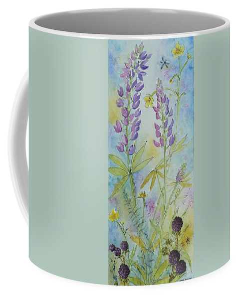 Meadow Coffee Mug featuring the photograph Summer Meadow by Carla Parris