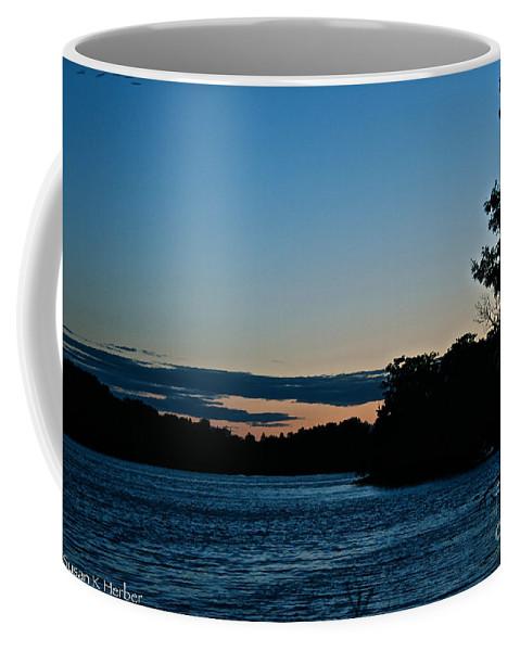 Minnesota Coffee Mug featuring the photograph Summer Sundown by Susan Herber