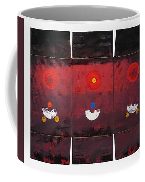 Sun Coffee Mug featuring the painting Sunarise by Charles Stuart