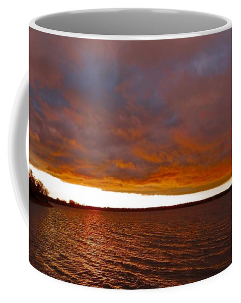 North America Coffee Mug featuring the photograph Sunrise At Ile-bizard ... by Juergen Weiss