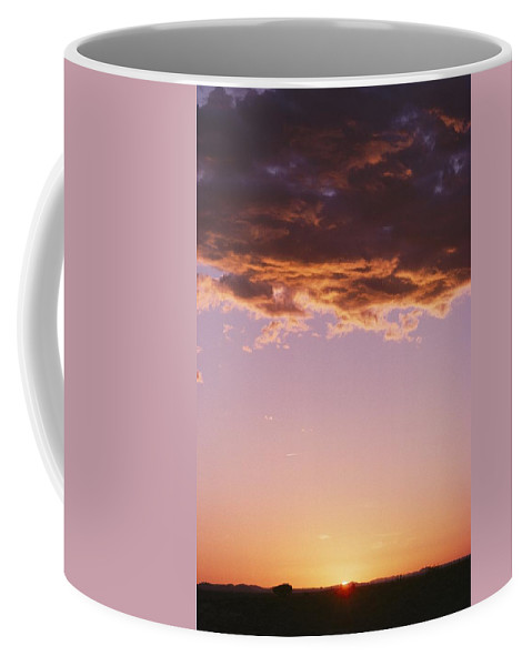 North America Coffee Mug featuring the photograph Sunrise In Arizona by David Edwards