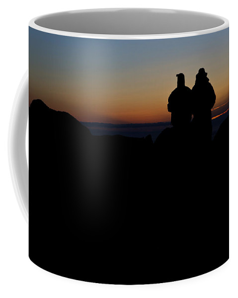 Maine Coffee Mug featuring the photograph Sunrise With Me by Rick Berk