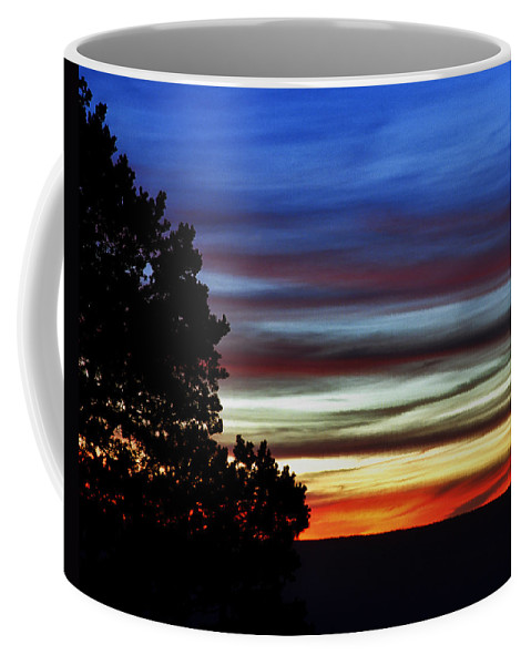 Sunset Coffee Mug featuring the photograph Sunset At Desert View Along The Grand Canyon by Greg Matchick