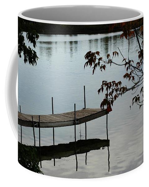 Usa Coffee Mug featuring the photograph Sunset Dock by LeeAnn McLaneGoetz McLaneGoetzStudioLLCcom