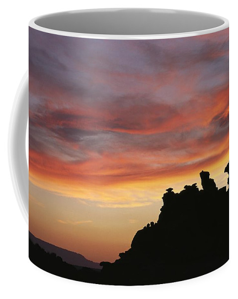 North America Coffee Mug featuring the photograph Sunset Over Painted Desert, Arizona by David Edwards