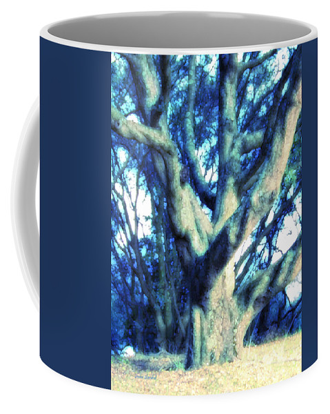 Tree Coffee Mug featuring the photograph Sunshine And Shadows by Donna Blackhall