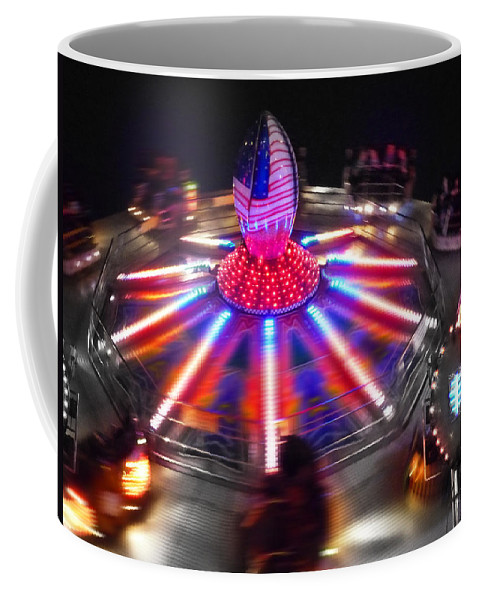 Ride Coffee Mug featuring the digital art Super Bowl Three by Charles Stuart