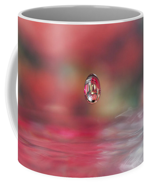 Waterdrop Coffee Mug featuring the photograph Suspended Animation by Kathy Clark